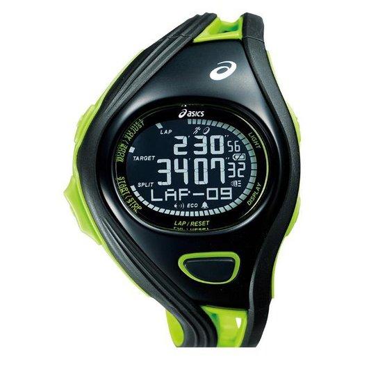 08df7eacf90 Relógio de Pulso ASICS Challenge Regular - Preto e verde - Compre ...
