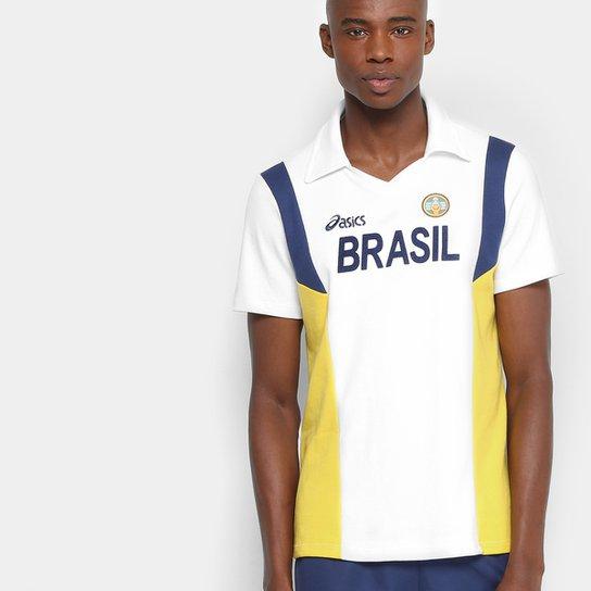 84febbe7d6 Camiseta Polo Vôlei Retro Asics Masculina - Compre Agora