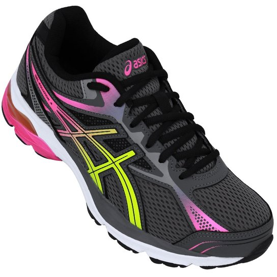 1be7a82ec2900 Tênis Asics Gel-Equation 9 A - Grafite+Amarelo