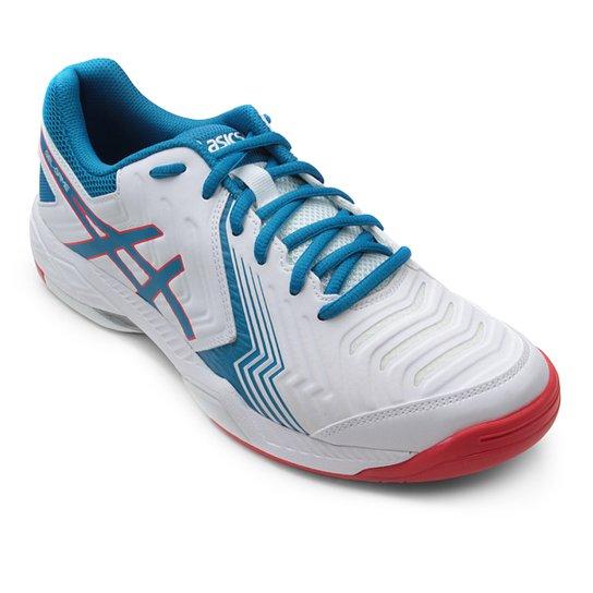 Tênis Asics Gel-Game 6 Masculino - Branco e Azul - Compre Agora ... a89055ae4f2b0