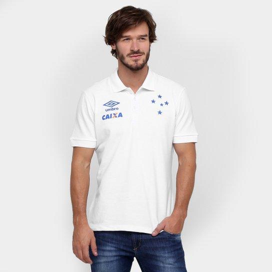 9ee541ef2d Camisa Polo Umbro Cruzeiro Viagem 2016 - Compre Agora
