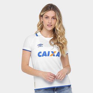 2484223b4e Camisa Cruzeiro II 17 18 s nº Torcedor Umbro Feminina