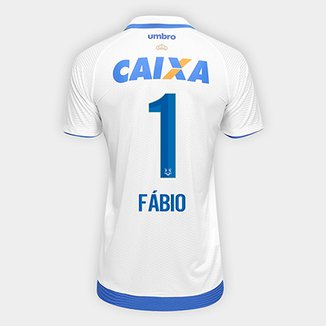 e60ac54e79 Camisa Cruzeiro II 17 18 nº 1 Fábio - Torcedor Umbro Masculina