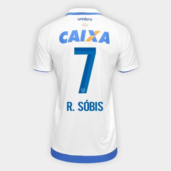 2135a86dc Camisa Cruzeiro II 17 18 nº 7 R. Sóbis - Torcedor Umbro Masculina ...