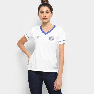 Camisa Bahia I 2018 s n° SK-1 Torcedor Umbro Feminina 535e010161369