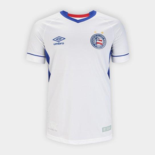Camisa Bahia II 2018 s n° SK-1 Torcedor Umbro Masculina - Branco e ... 300c238b5d656
