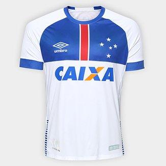 ac04685e55 Camisa Cruzeiro II 2018 s n° C  Patrocínio Blár Vikingur - Torcedor Umbro