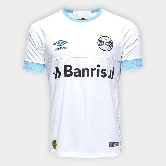 233f8ea7ce Camisa do Grêmio II 2018 n° 10 - Jogador Umbro Masculina - Branco e ...