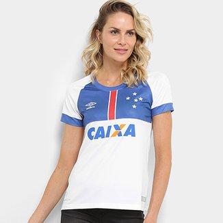 65ee53af6cf97 Camisa Cruzeiro II 2018 s n° Blár Vikingur C  Patrocínio - Torcedor Umbro