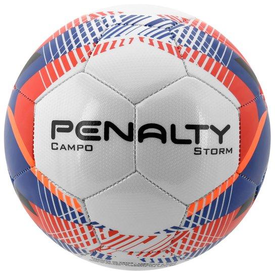 67946bf9f Bola Penalty Storm 5 Campo - Branco+Azul