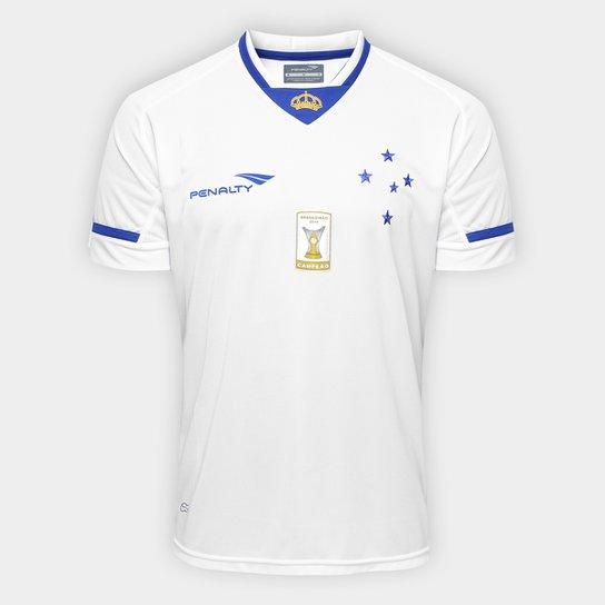51613bce78 Camisa Penalty Cruzeiro II 15 16 s n° Masculina - Compre Agora ...