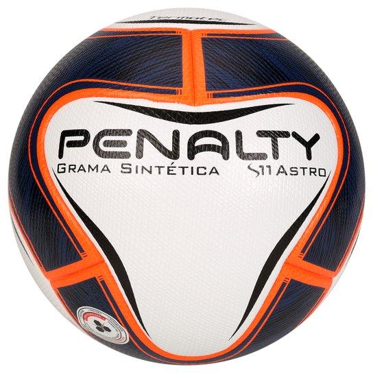 Bola Futebol Penalty S11 Astro Ko VI Society - Marinho+Laranja 4d0a9ca07c333