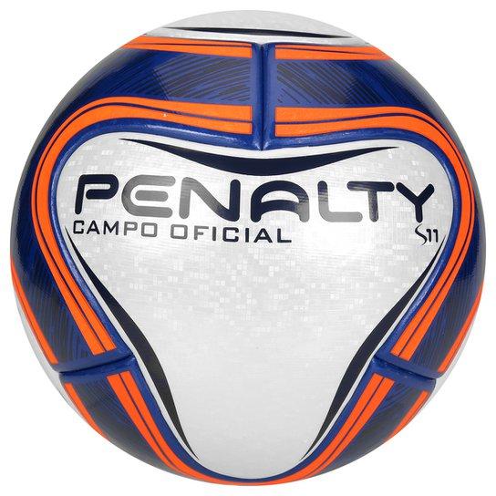 1b53d32a14 Bola Futebol Penalty S11 R1 6 Campo - Branco+Marinho