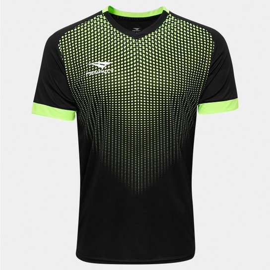 Camisa Penalty Goleiro Mc Delta 6 - Preto+Verde Limão f24a597c2a840