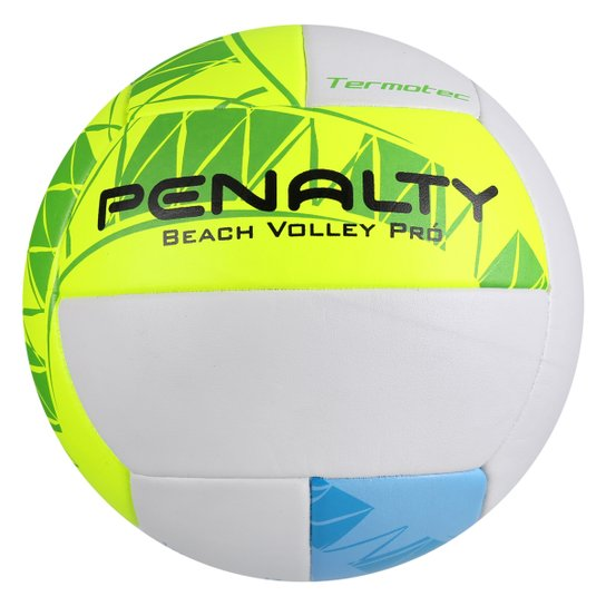 940997ff70062 Bola Penalty Vôlei Beach Pro 4 - Branco+Amarelo