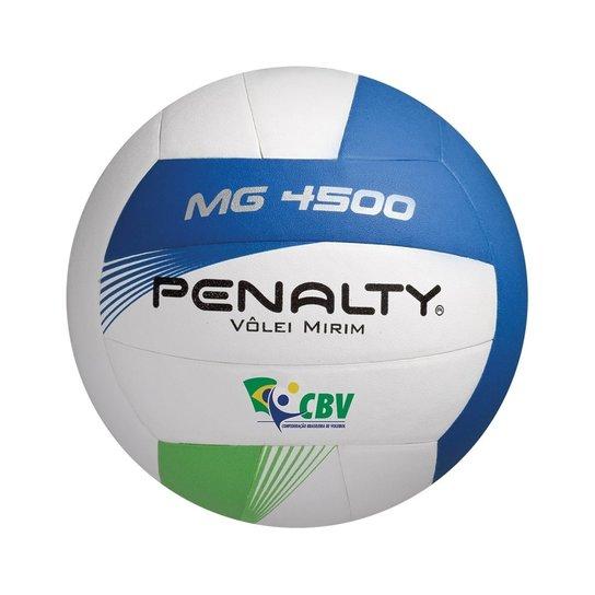 Bola Vôlei Penalty Mg 4500 Infantil - Branco e Azul - Compre Agora ... 0119a10692931