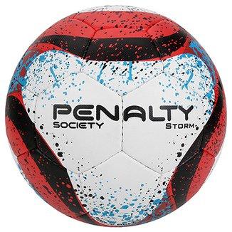 014d4e2f50 Bola Futebol Society Penalty Storm Com Costura à Mão 7