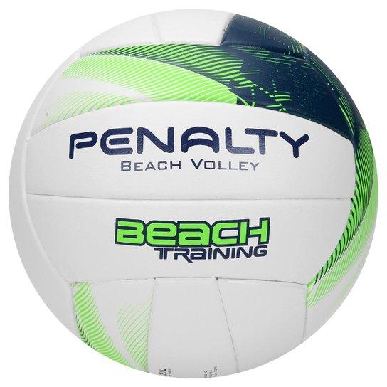 Bola Penalty Beach Volei Training Fusion VII - Branco e Verde Claro ... d516da9fe29c2