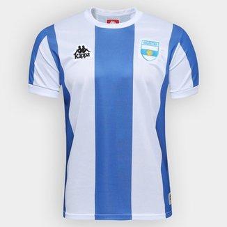 Camiseta Argentina Kappa Masculina 4f4d1d7053d5c