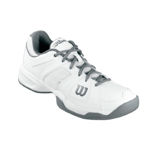 70544eca56d Tênis Access Masculino Branco Grafite 41 - Wilson - Compre Agora ...