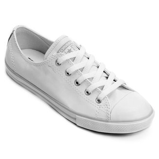 87f84b0b3ea Tênis Couro Converse All Star Ct As Dainty Leather Ox Feminino
