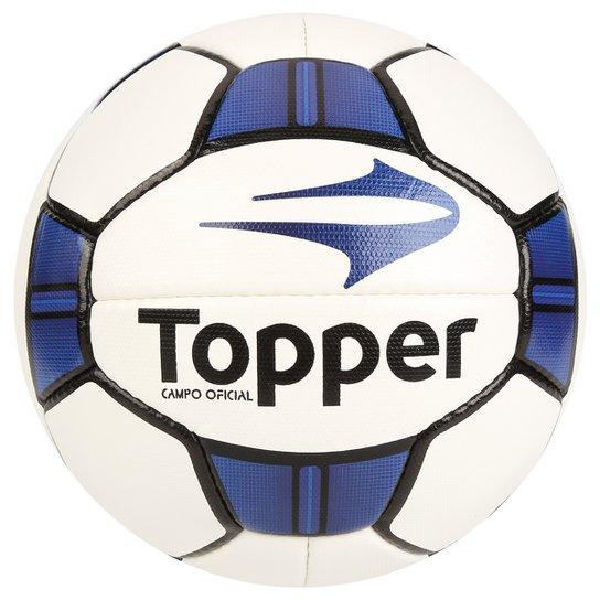 Bola Futebol Campo Topper Maestro 2 - Branco e Azul - Compre Agora ... 90f17de5de5bd
