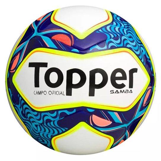 ac8616f5e7 Bola Futebol Campo Topper Samba - Compre Agora