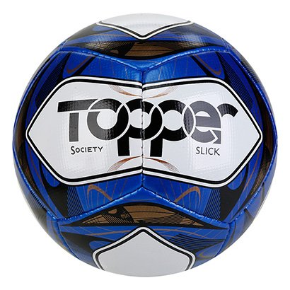 Bola de Futebol Society Topper Slick Costurada
