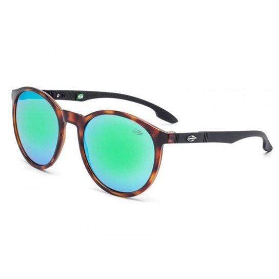 50aa5c06820ba Óculos Sol Mormaii Maui M0035f5285 Demi Marrom - Preto e verde ...