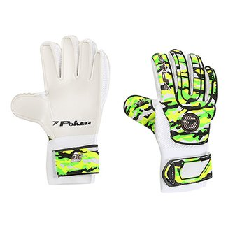 Luva de Goleiro Poker Blocked Training Camuflada