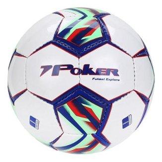 cdb6a0d543df1 Bola de Futsal Poker Explore 32 Gomos