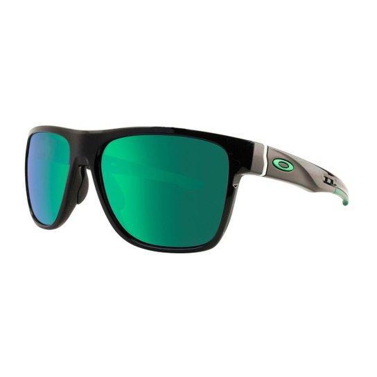 9a27857aa Óculos de Sol Oakley Crossrange XL OO9360 - Polished Black - Prizm Black  Polarized - Preto