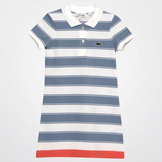 Vestido Lacoste Infantil - Compre Agora   Netshoes 0944d4461c