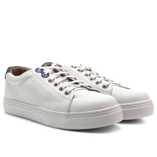 b89856b17 Sapatênis Couro Calvin Klein Baixo Masculino - Compre Agora | Netshoes
