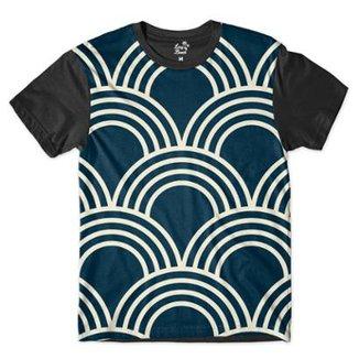 Camiseta Long Beach Náutica Arcos Sublimada Masculina c21571ebae9