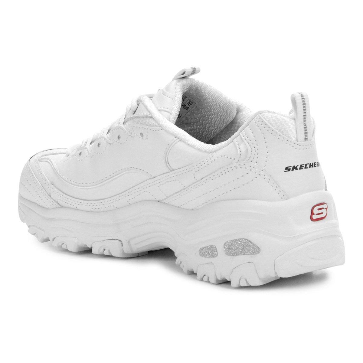 e1c072c9bfa16e Tênis Skechers D'Lites Fresh Start Feminino - Tam: 37 - Shopping ...