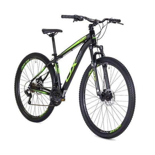 b4f876c3a Bicicleta Mtb Ox Bike Aro 29 Hard Glide - Preto+verde