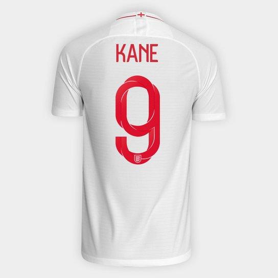 8966b513f1 Camisa Seleção Inglaterra Home 2018 n° 9 Kane - Torcedor Nike Masculina -  Branco