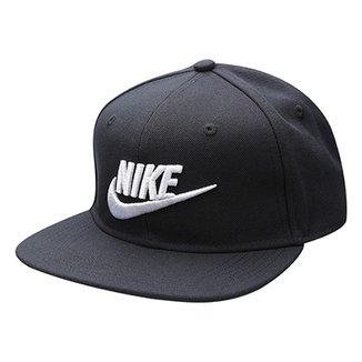 Boné Infantil Nike Y Pro Futura 4 Snapback Aba Reta 759001beec2
