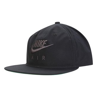 c8ce5f0f709d2 Boné Nike Aba Reta Logo Bordado NSW PRO AIR Masculino