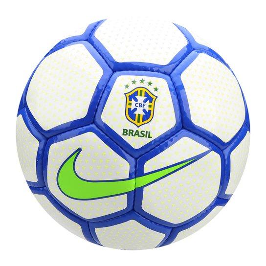 5889367259 Bola de Futebol Society Nike CBF - Branco e Azul - Compre Agora ...