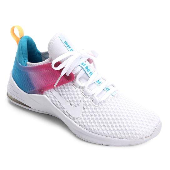 e5f2608cb91 Tênis Nike Air Max Bella Tr 2 Feminino - Branco e Azul - Compre ...
