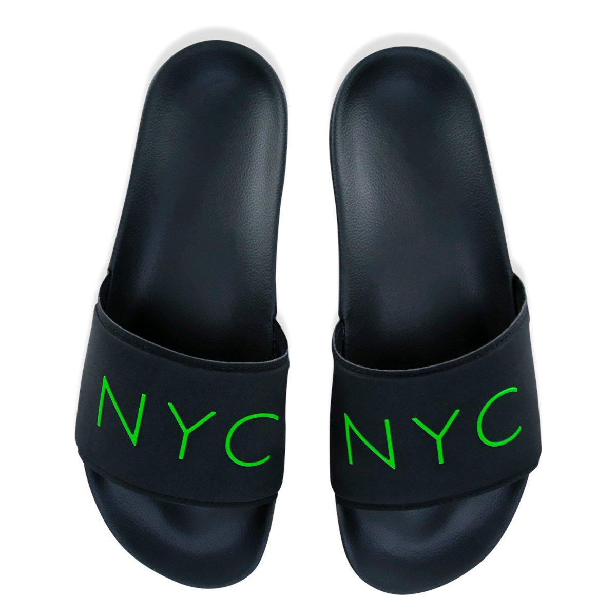 Chinelo Slide New Era NYC Box Masculino