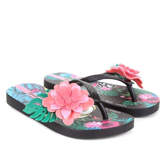 Sandália Infantil Ipanema Barbie Tropical Feminina - Preto+verde. Loading. 50d262591ed0f