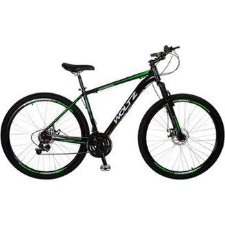 2625d76e922ec Bicicleta Woltz Aro 29 Freios a Disco 21 velocidades quadro alumínio  Câmbios Shimano