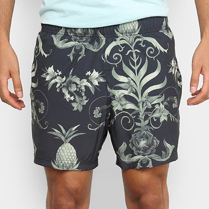 Bermuda Osklen Beach Short Arabesco Masculina
