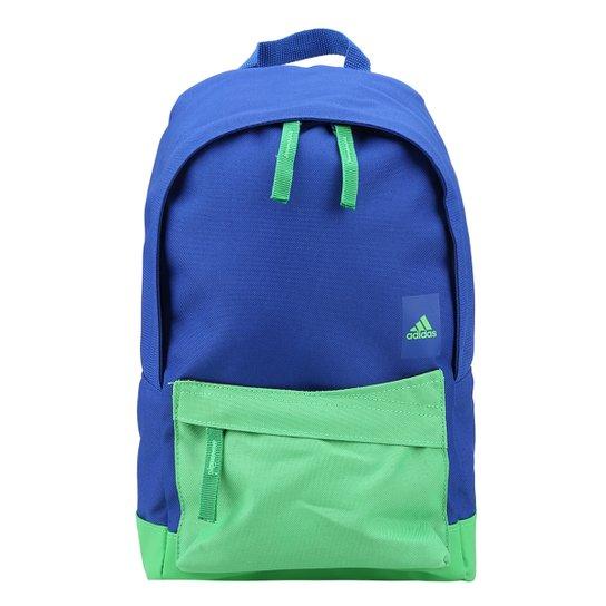 5b6415cd3 Mochila Infantil Adidas Classic - Azul Royal e Verde | Netshoes