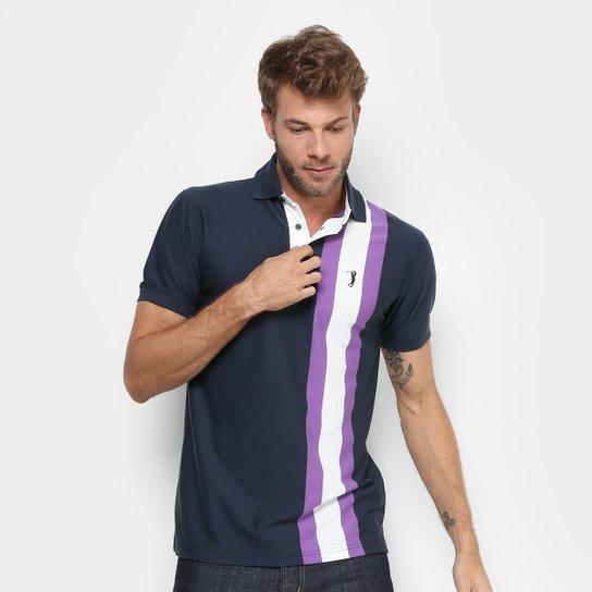 Camisa Polo Aleatory Listras Verticais Masculina - Compre Agora ... bd766c6dc0fe8