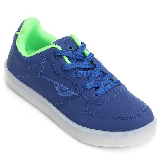 a250eb3d849 Tênis Bouts FLASH LED I Infantil - Azul e Verde Limão - Compre Agora ...