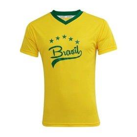 d01f6fbbb5c8e Camiseta Feminina Nike Seleção Brasil Covert Retrô 2014 - Compre ...